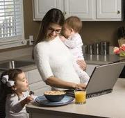 MOMS: You CAN Work From Home!