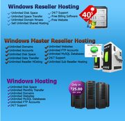 windows reseller web hosting,  unlimited windows reseller hosting,  unme