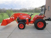 2008 Kubota L3400 4x4 Tractor Loader 247 hrs