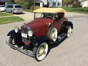 FORD MODEL A Ford Model A Deluxe Roadster