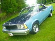 1980 Chevrolet Chevrolet El Camino 2 tone