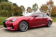 2015 Lexus RC F Carbon Performance Package