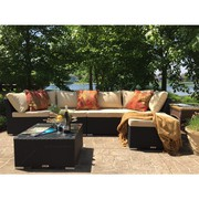 Wicker Patio Sectional Sofa Set On Sale